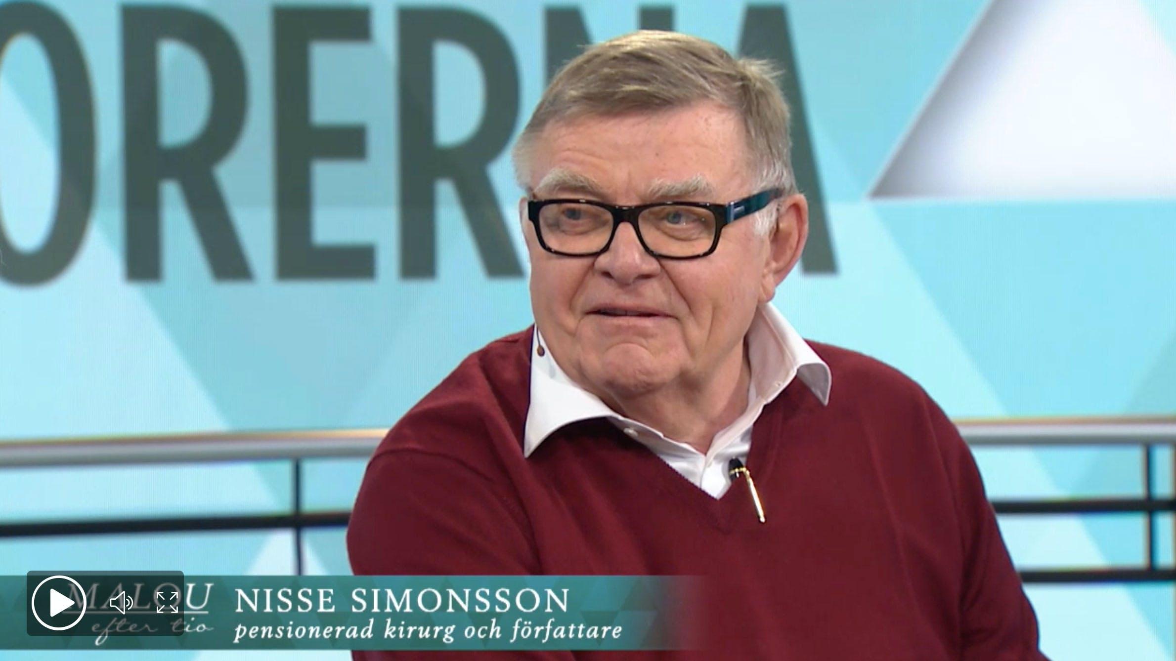 Nisse Simonsson: Så minskar du inflammationer