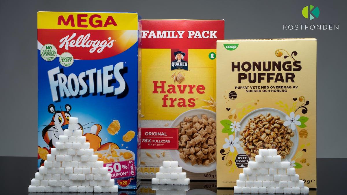 Kostfonden synar sockret