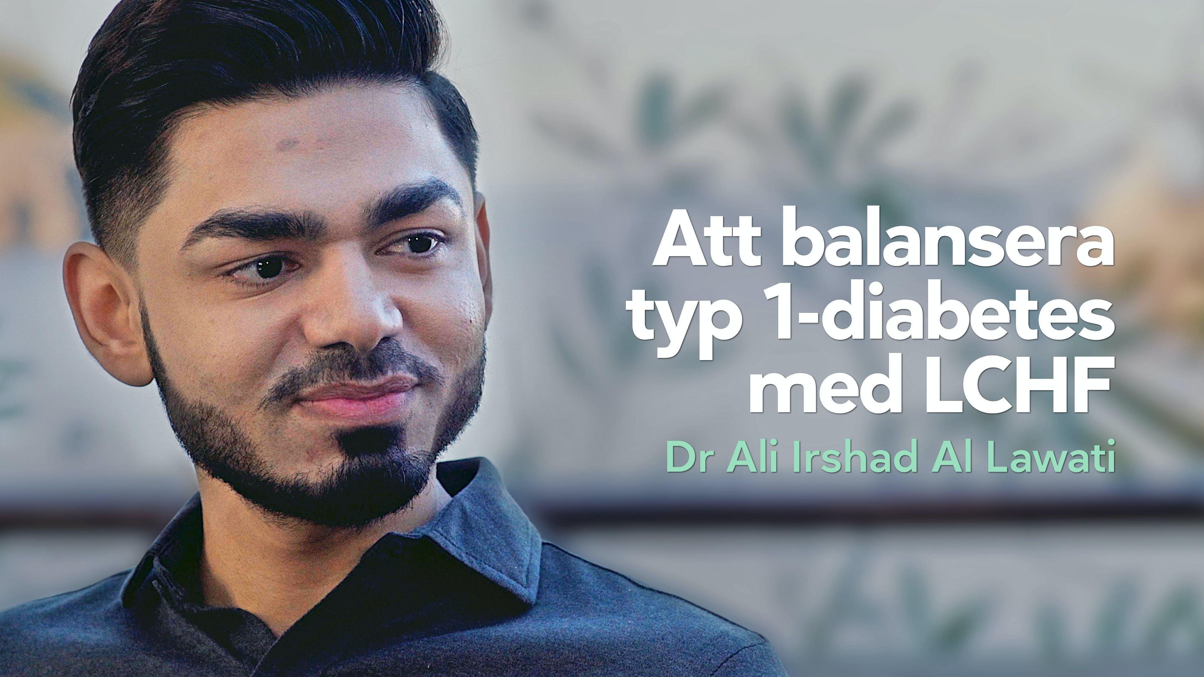 Att balansera typ 1-diabetes med LCHF