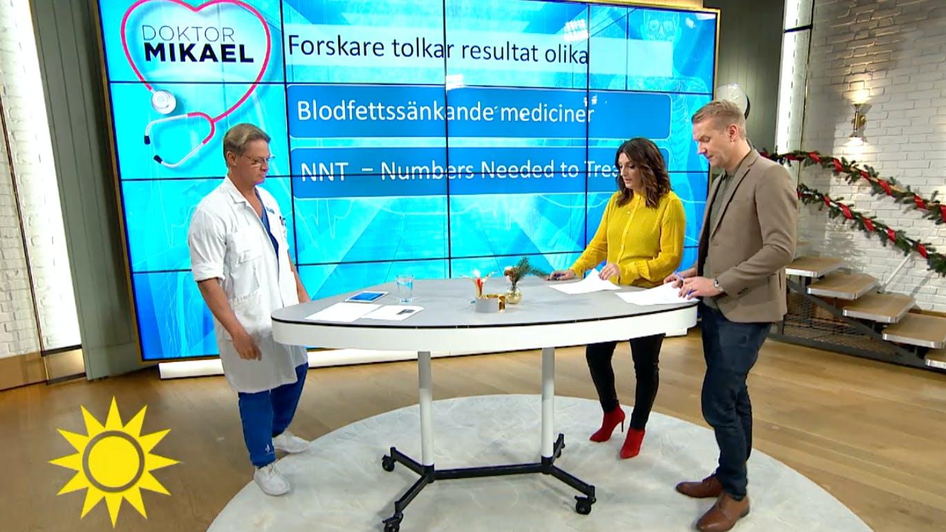 Nyhetsmorgon: Doktor Mikael om läkemedelsbranschen