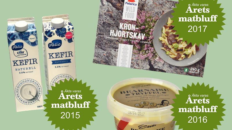 Rösta fram Årets matbluff