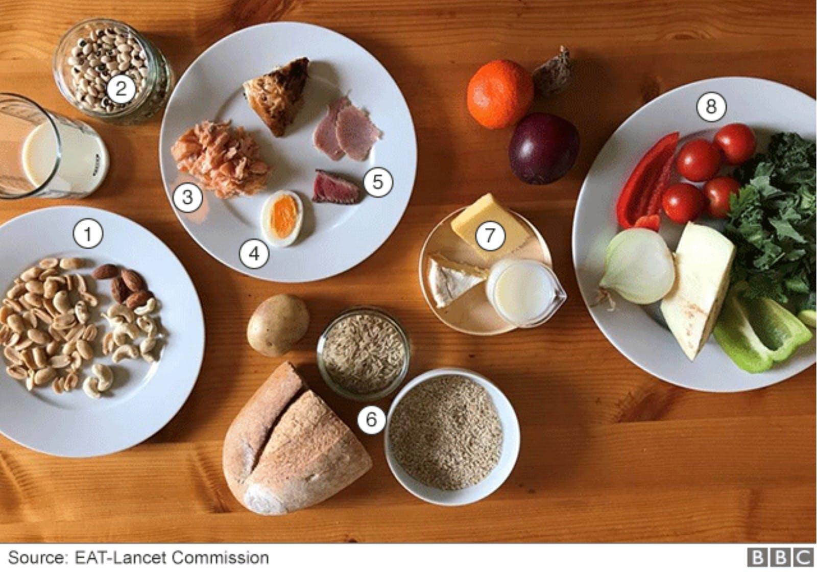 EAT Lancet study diet