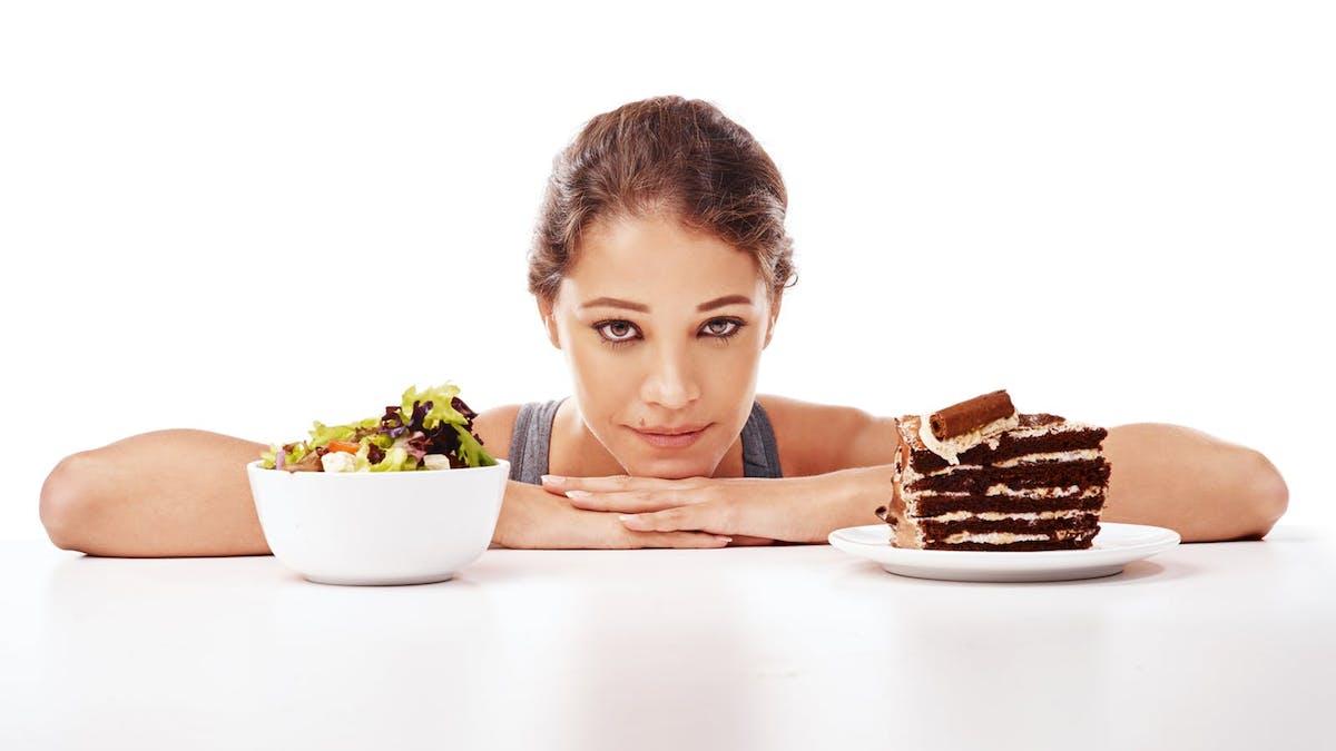 Många slutar med hälsosam mat för att den är tråkig