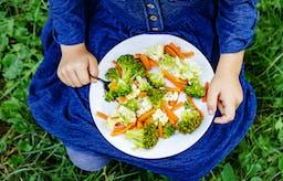 Den friska maten för hela familjen