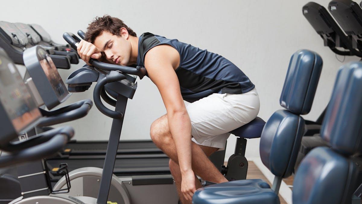 Trött efter träning