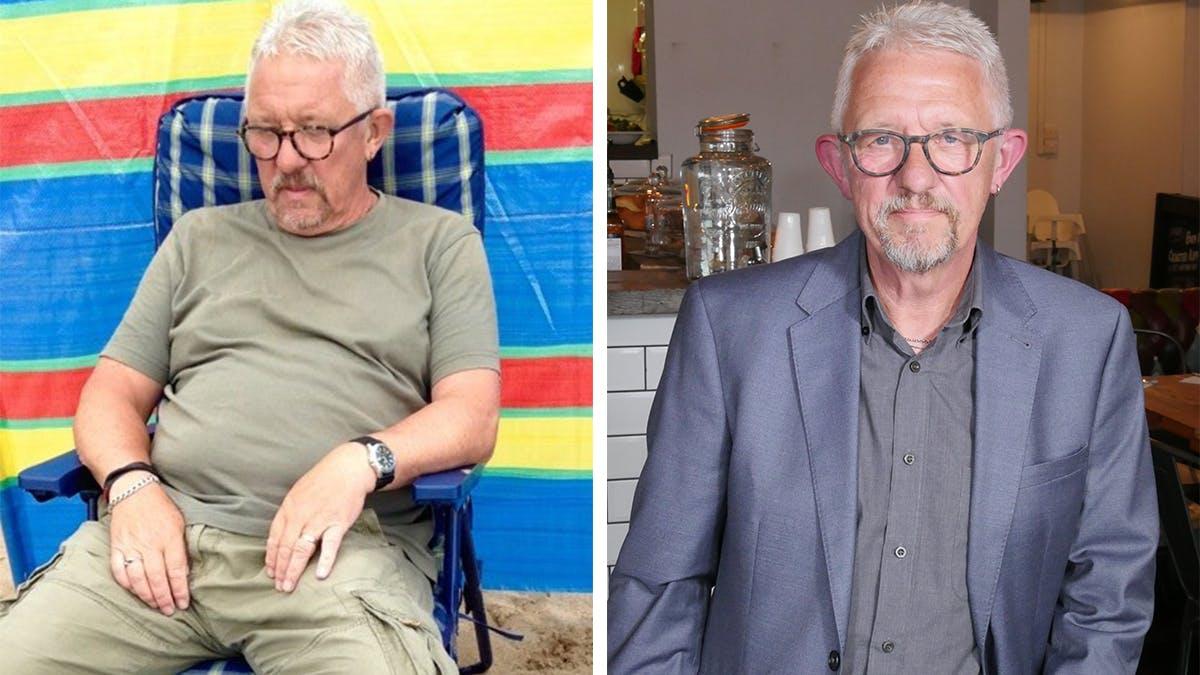 Efter tio år med typ 2-diabetes började Graham med LCHF