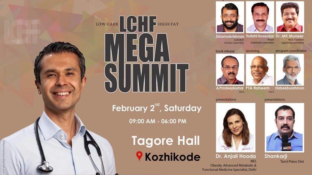 Världens största: LCHF Mega Summit