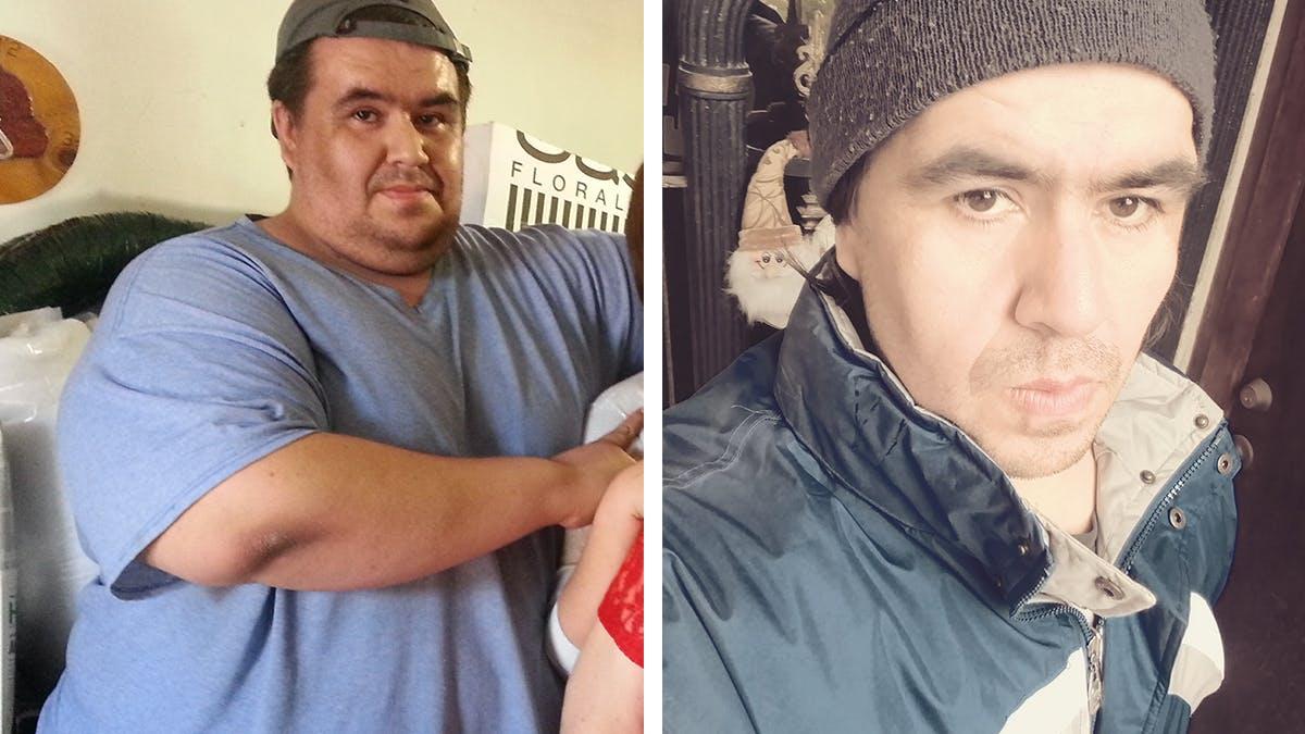 Ricardo gick ner 110 kilo