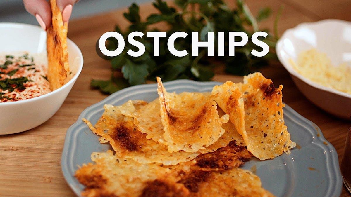 Matlagningsvideo: Ostchips
