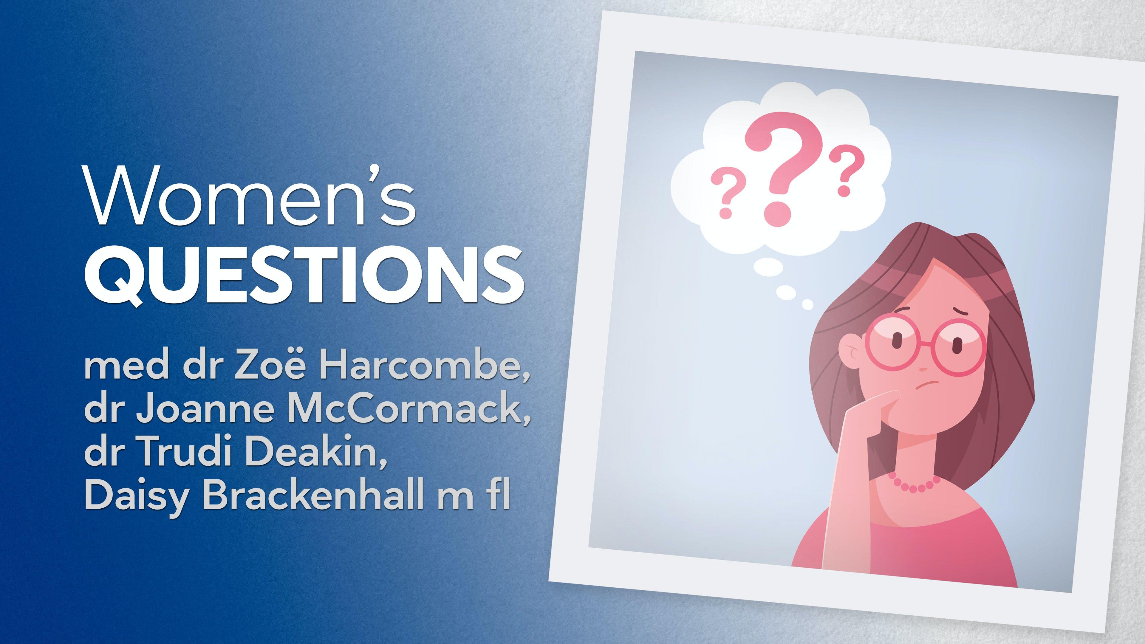 Women's questions – kvinnorelaterade frågor
