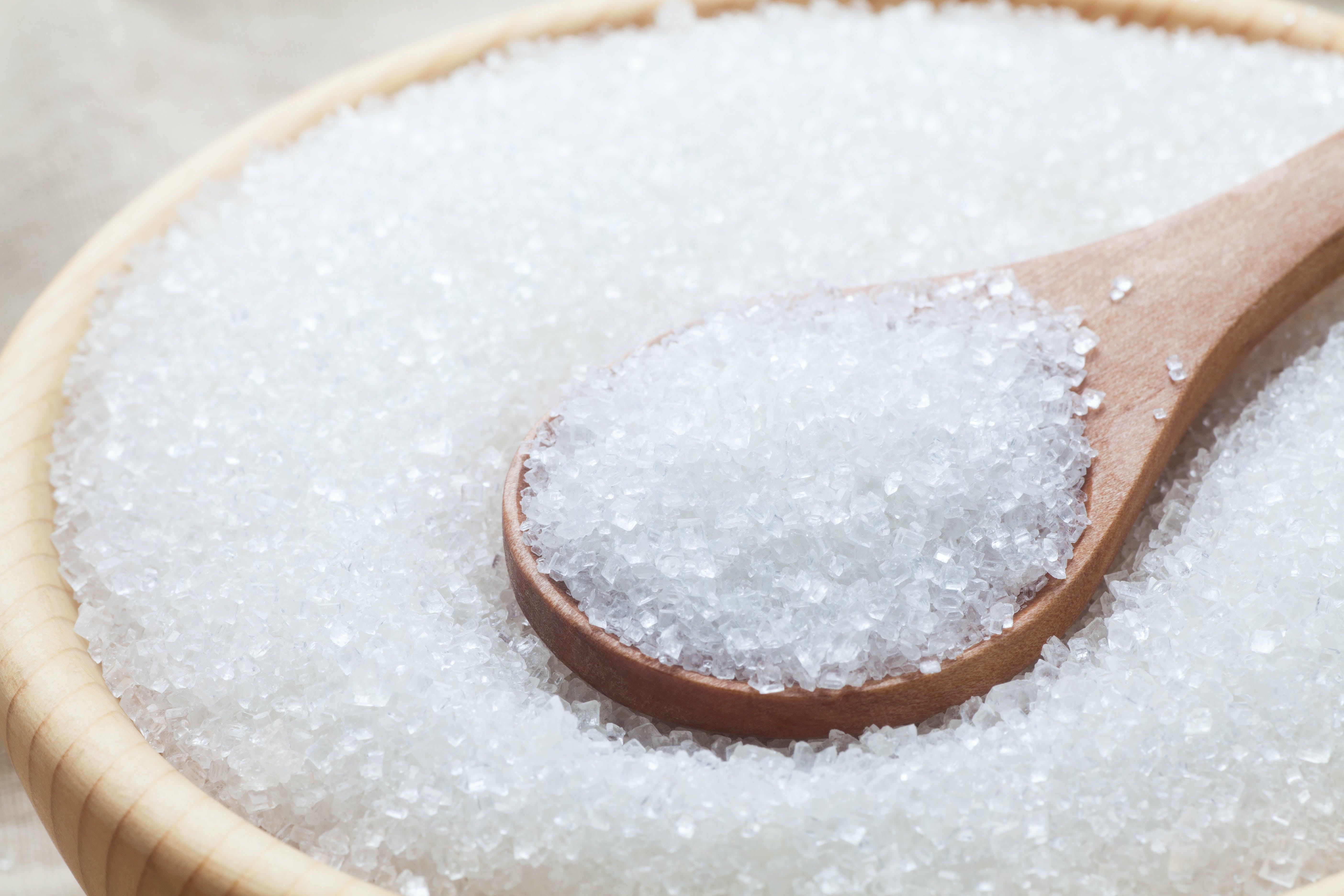 Kraftig minskning av sockerförbrukningen i Sverige