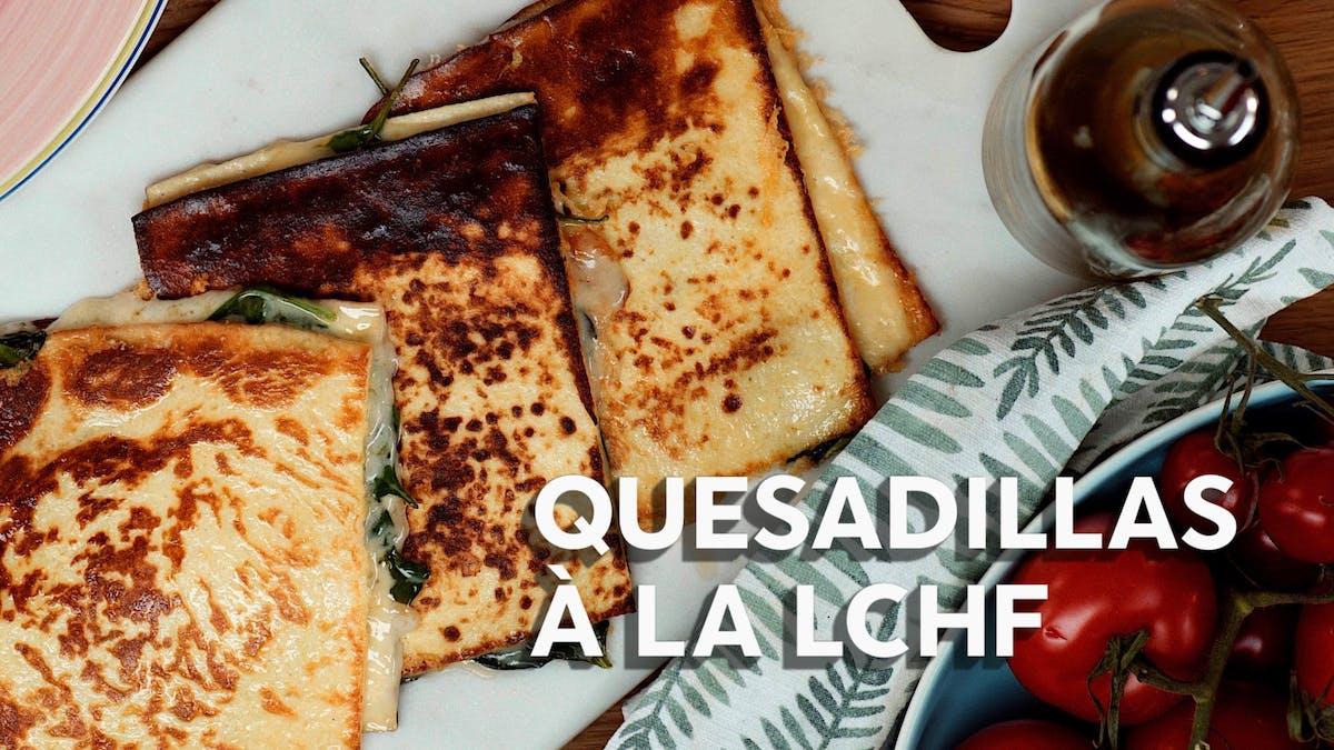 Matlagningsvideo: Quesadillas à la LCHF