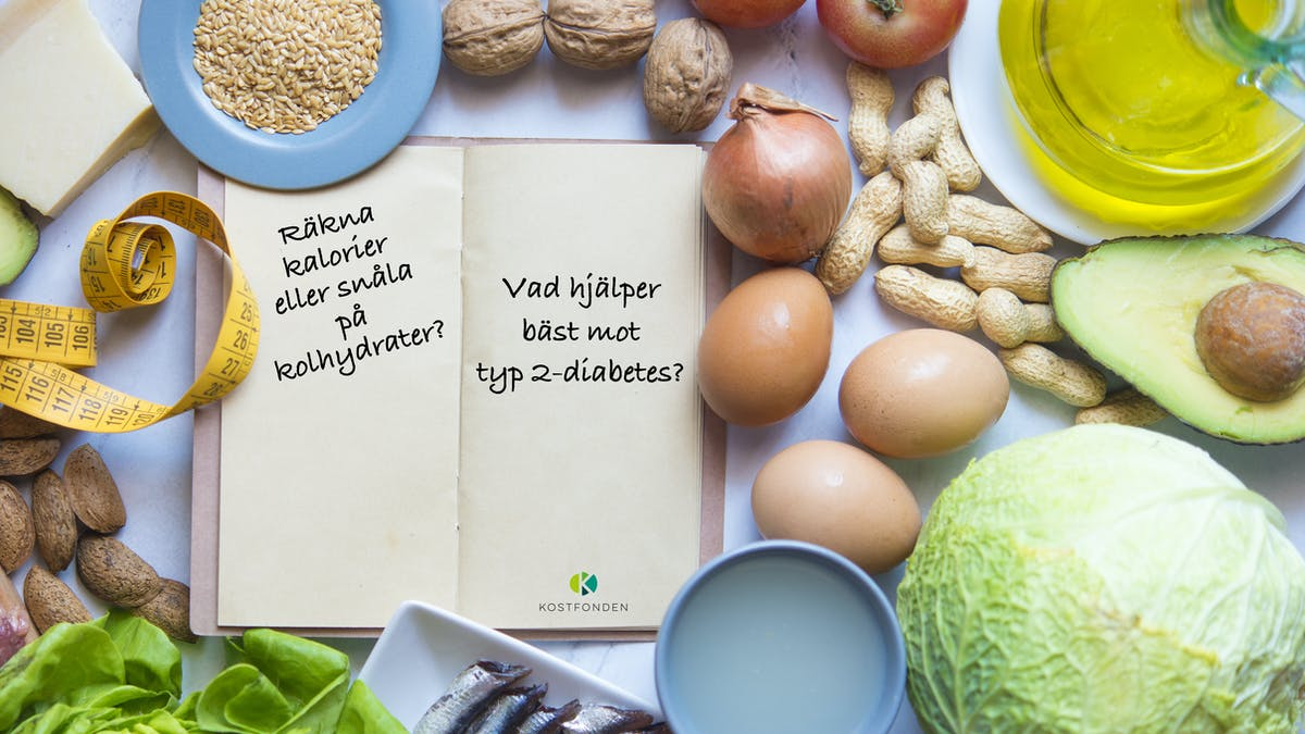 Kostfonden igen: Europas största studie av kost vid typ 2-diabetes