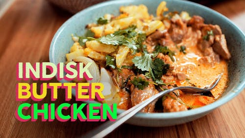 RECEPT: Indisk butter chicken
