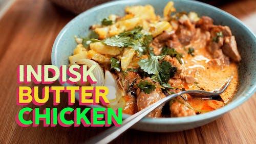 RECEPT: Indisk butter chicken