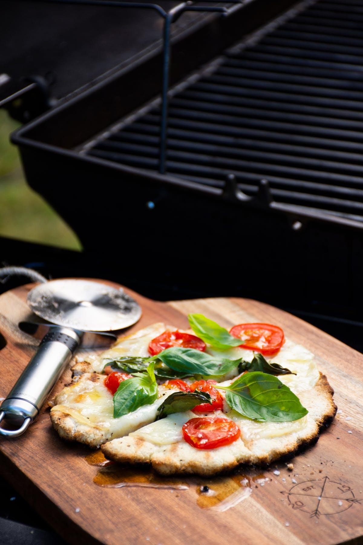 LCHF-pizza på grillen