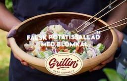 Grilla med KetoConnect: Falsk potatissallad med blomkål