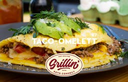 Grilla med KetoConnect: Taco-omelett