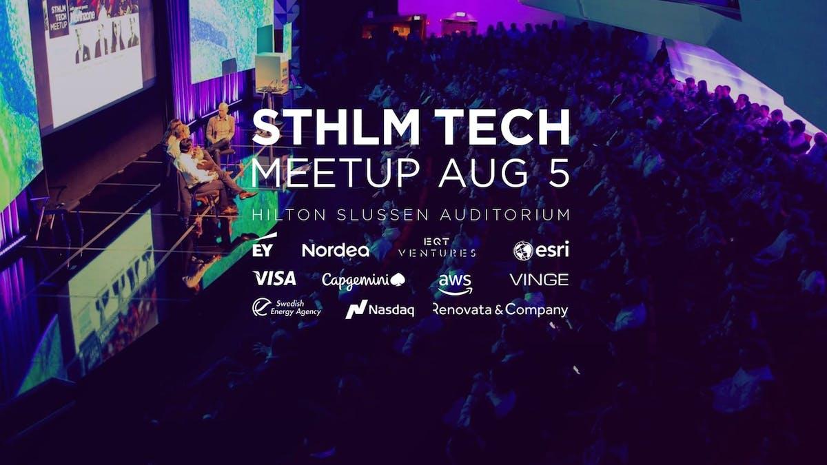 Kom och träffa oss på STHLM TECH Meetup!