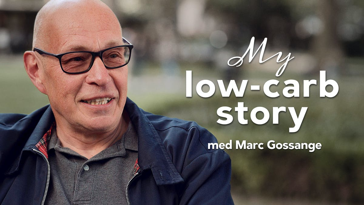 My low-carb story med Marc Gossange