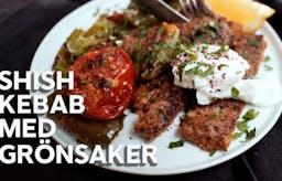 Matlagningsvideo: Shish kebab i ugn med vitlökskräm
