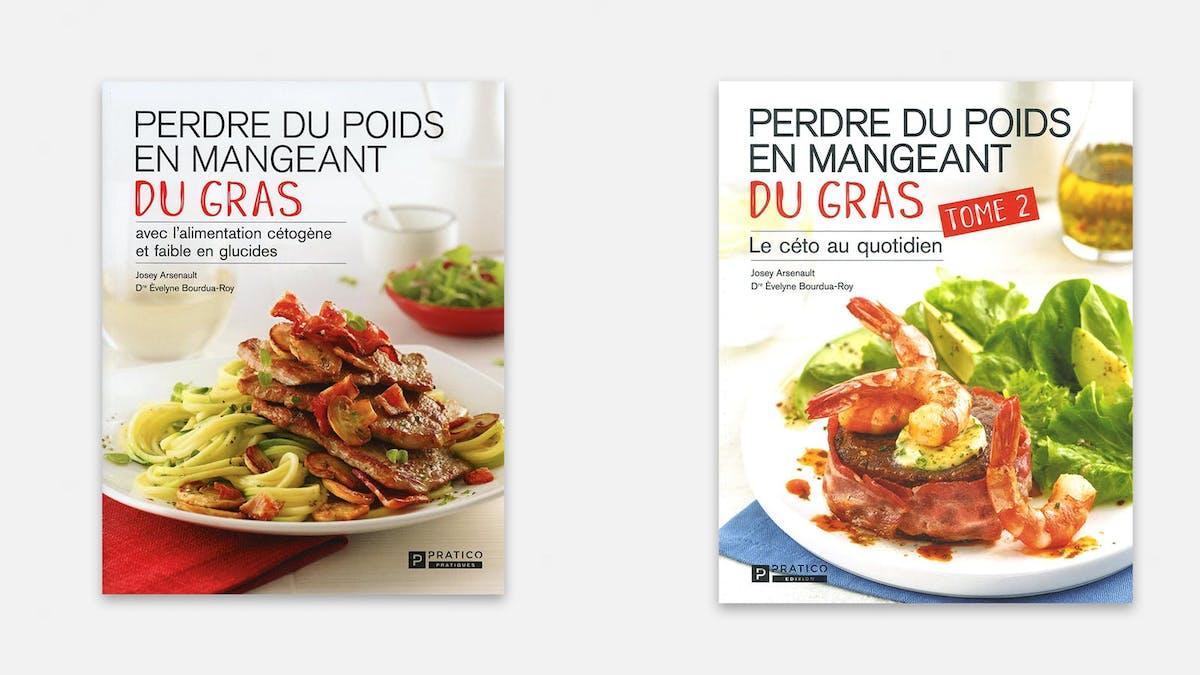 Två ketoböcker är bästsäljare i Kanada
