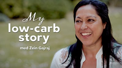 My low-carb story med Zein Gajraj