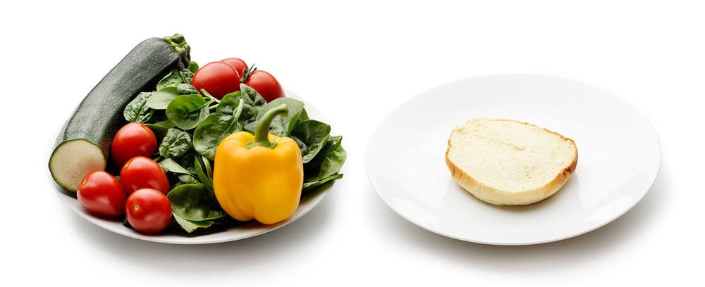 20 and 50 grams of carbs in different ways