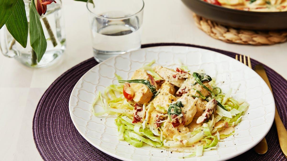 Italiensk kycklinggryta med parmesan