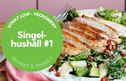 Ny strikt veckomeny: Maträtter för singelhushållet