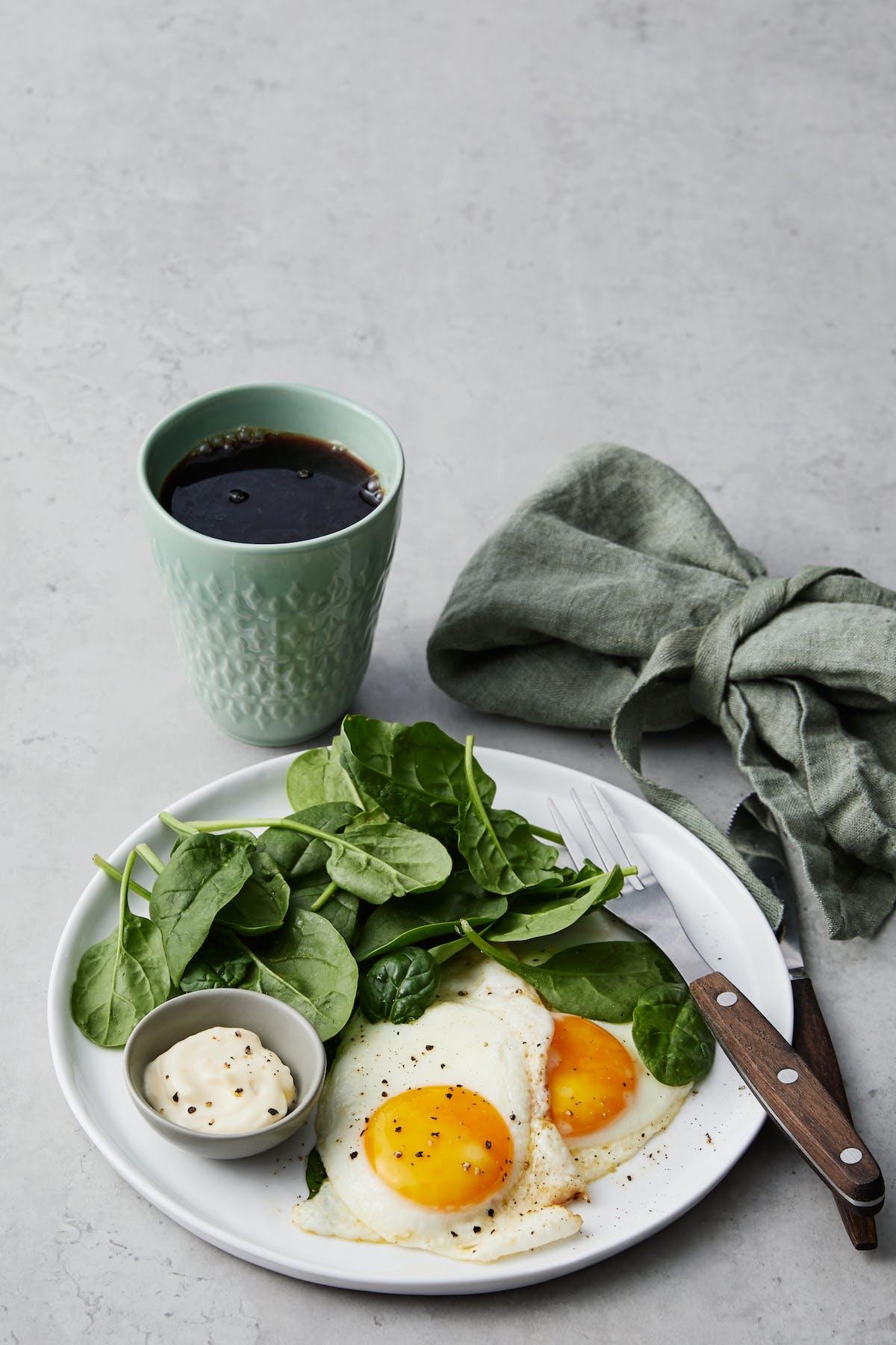 kalorier i stekt ägg