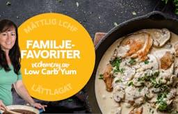 Ny måttlig veckomeny: Familjefavoriter av Low Carb Yum