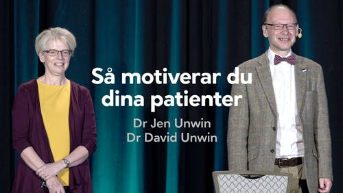 Så motiverar du dina patienter