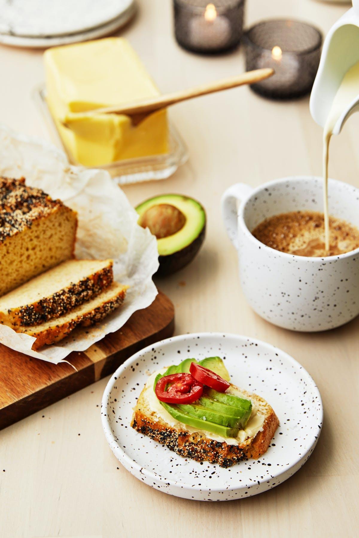 Camillas nötfria LCHF-bröd