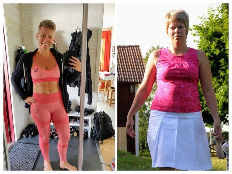 Pernilla 10 års skillnad