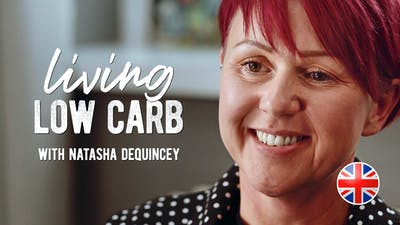 Living low carb med Natasha Dequincey