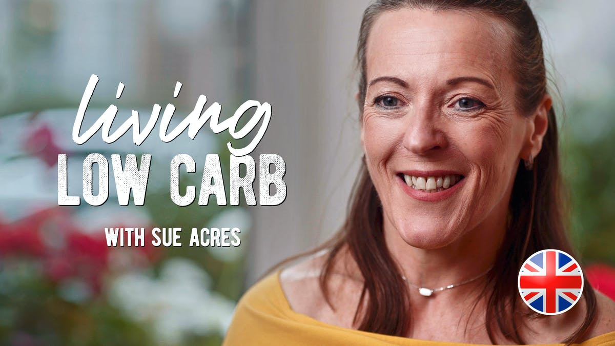 Living low carb med Sue