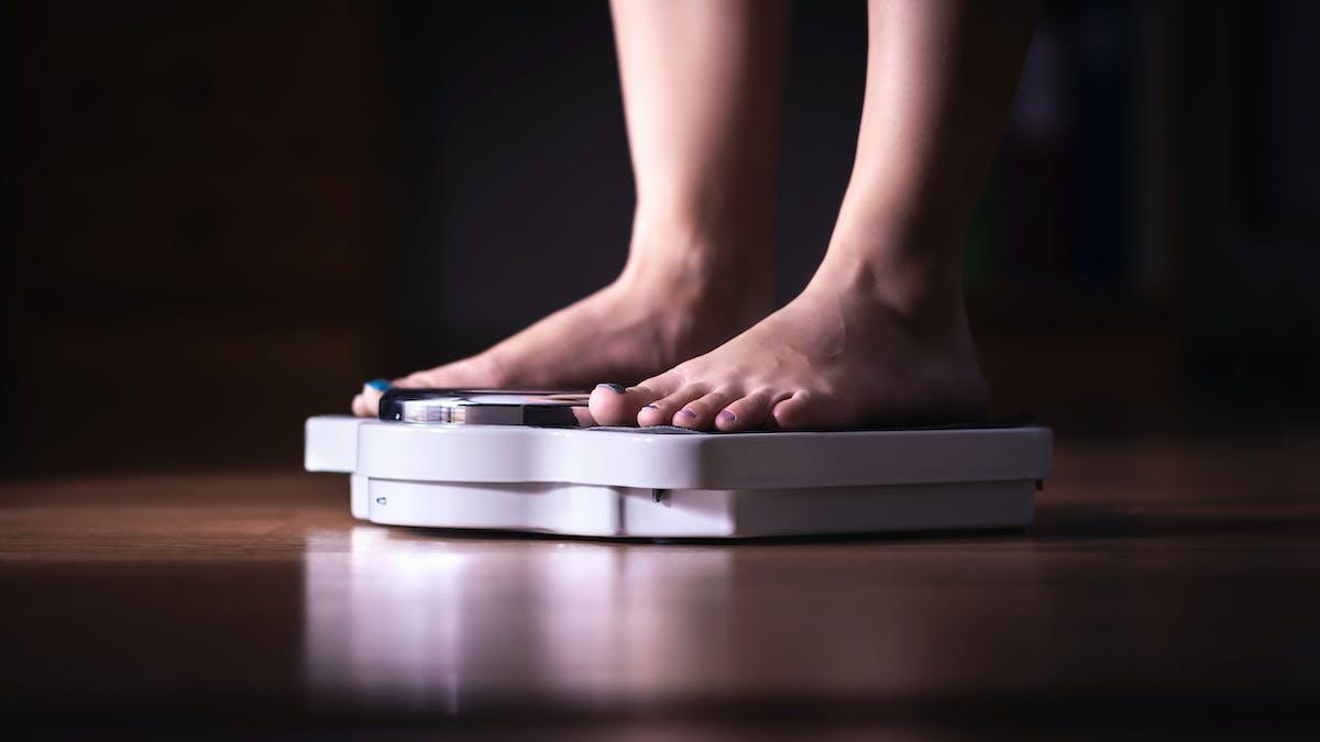Att hålla vikten efter viktnedgång