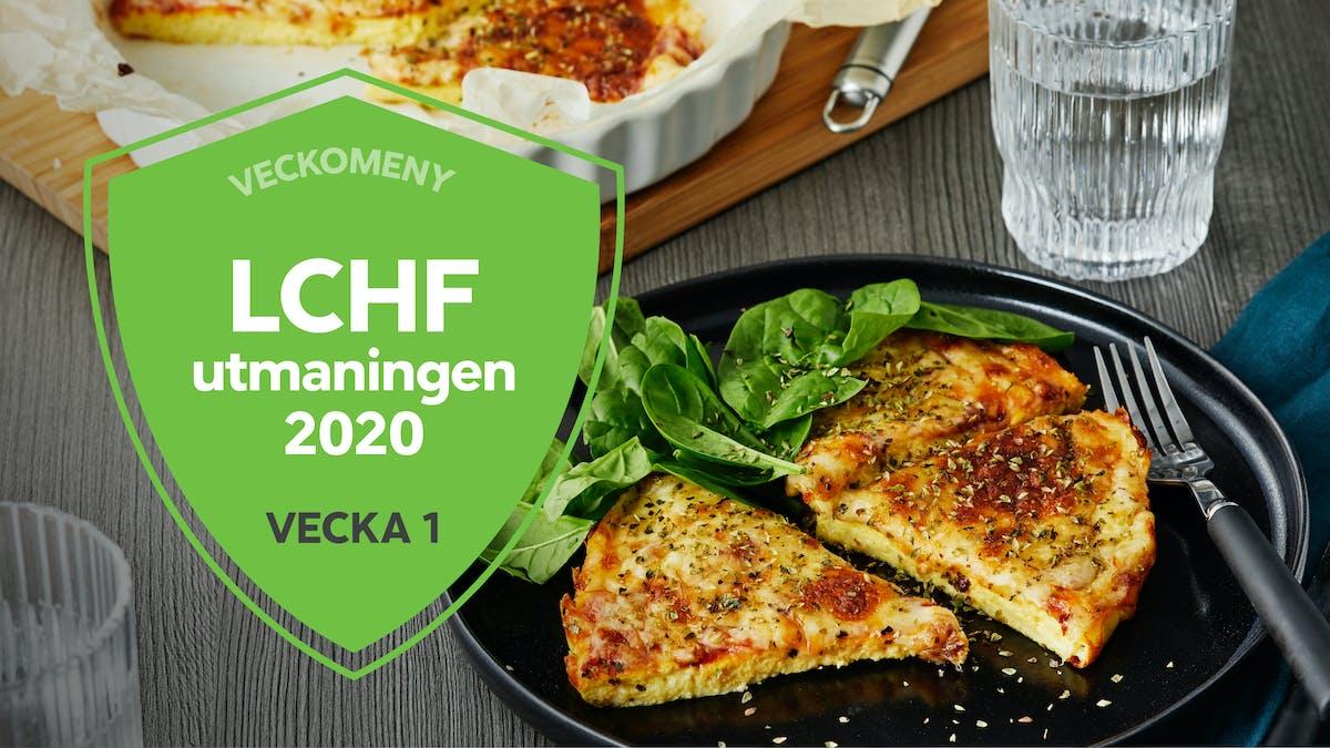 Strikt LCHF: LCHF-utmaningen 2020 – vecka 1