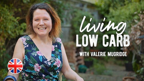 Living low carb med Valerie Mugridge