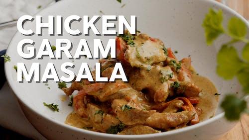 Snabblagad kycklinggryta med garam masala