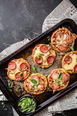 Pizza-chaffles