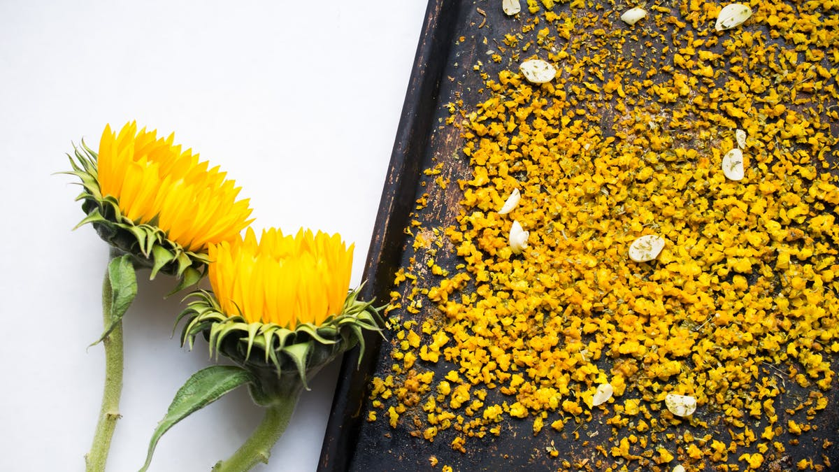 Gult blomkålsris