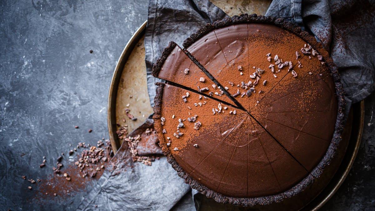 Mejerifri chokladtårta