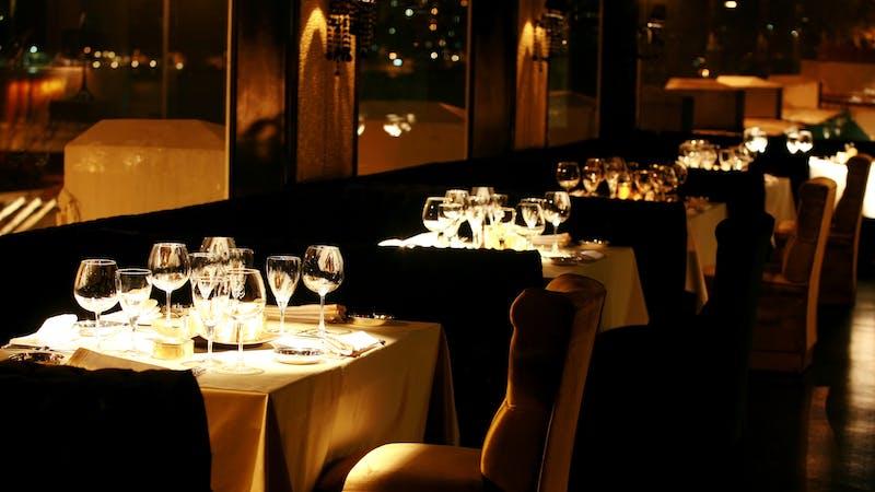 dinner table restaurant valentines keto