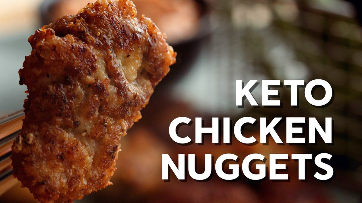 Matlagningsvideo: LCHF-chicken nuggets