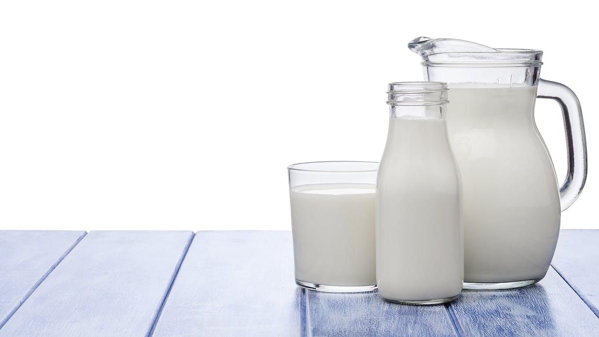 Får man starka ben av att dricka mjölk?