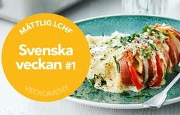 Ny måttlig veckomeny: Svenska veckan #1