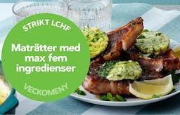 Ny strikt veckomeny: Maträtter med max fem ingredienser