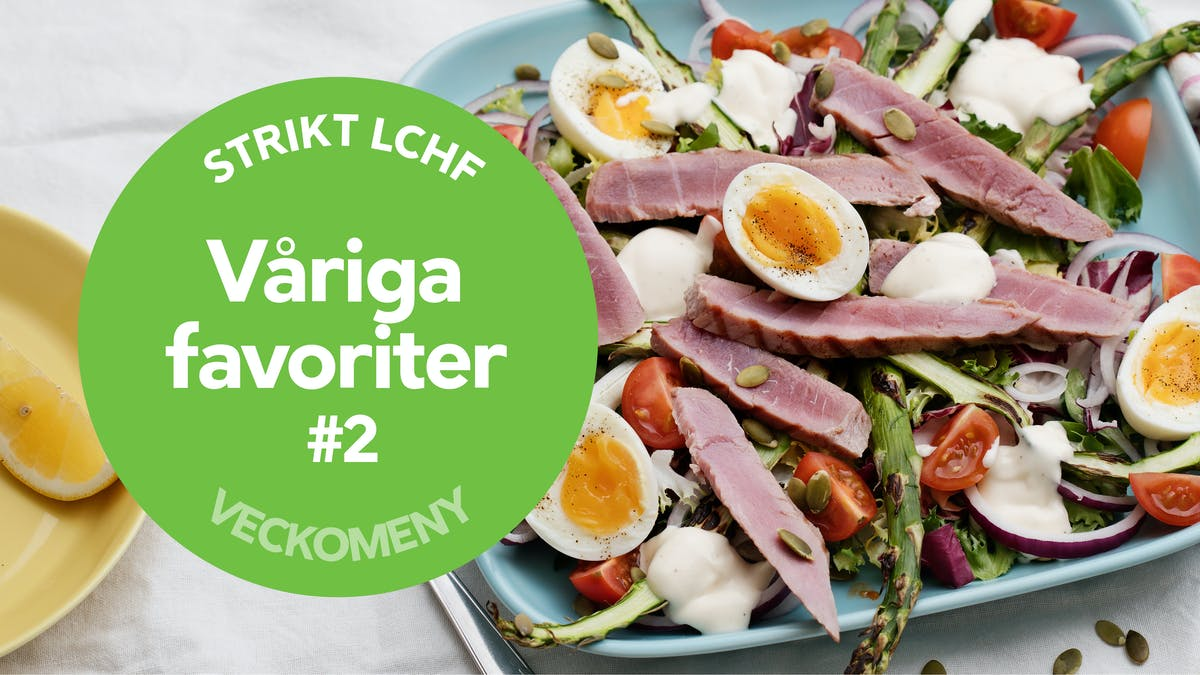 Ny strikt veckomeny: Våriga favoriter #2